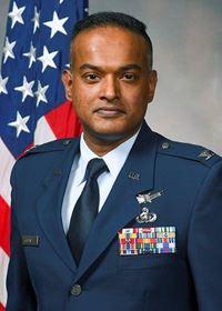 Col John Kurian, USAF headshot