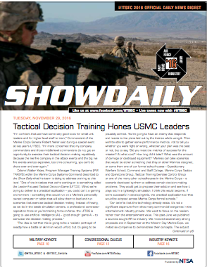 IITSEC_Show_Daily_Day_2_2016